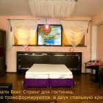 Кровати для гостиницы бокс спринг box-spring, матрасы